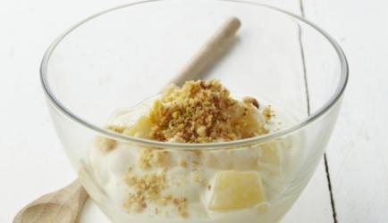 Verse kaas met peren- en appelcompote met karamel recept ...