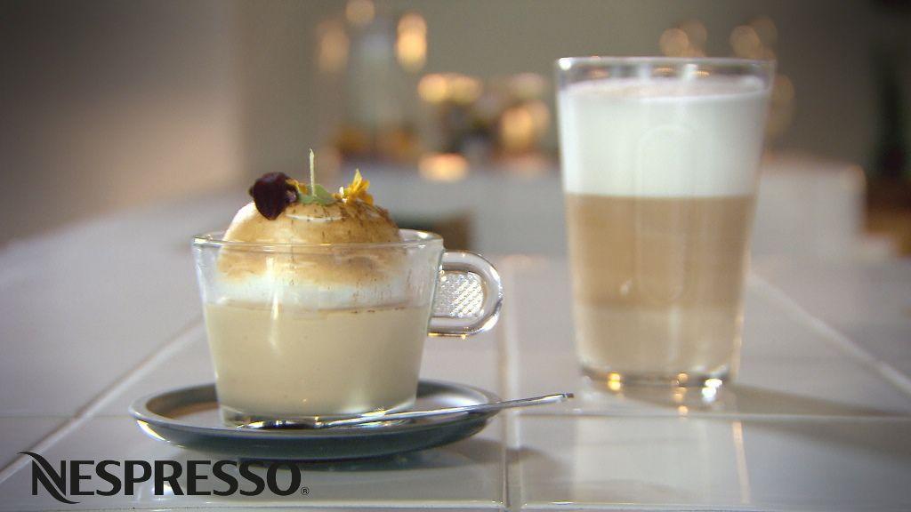Recept 'koffiemousse met meringue italienne'