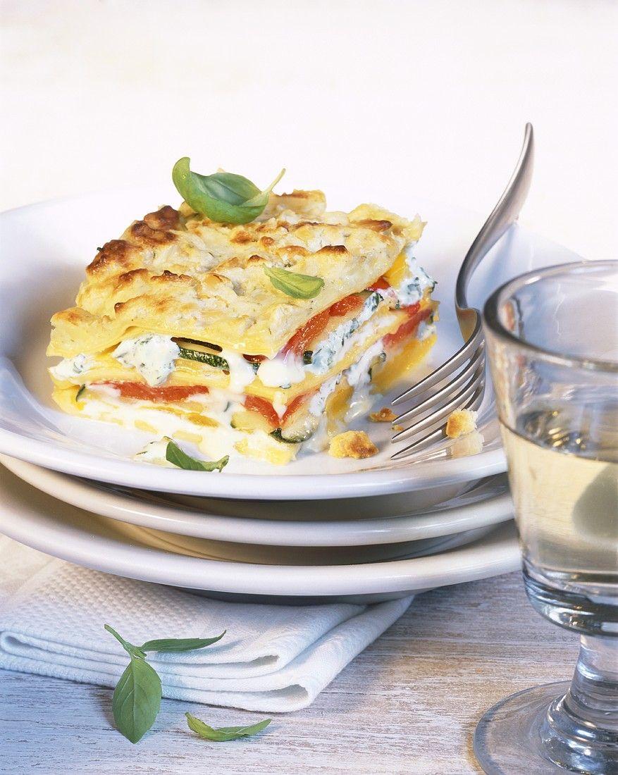 Recept 'groentelasagne'
