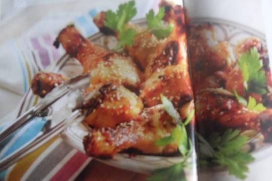 Niet te versmaden kipkluifjes met honing en sesam !! recept ...