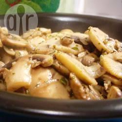 Gebakken champignons recept