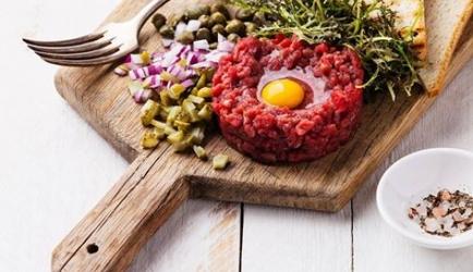 Echte steak tartaar (américain preparé) recept
