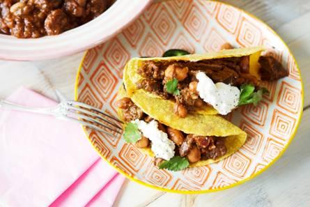 Mexicaans stoofvlees met bonen