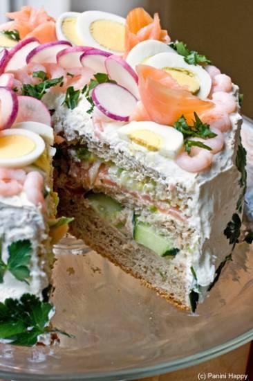 Zweedse sandwichtaart recept