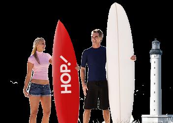 Surf & hop recept