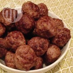 Pikante gehaktballetjes recept
