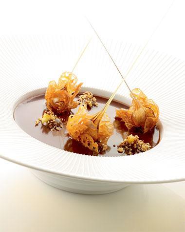 Recept 'mousse van hazelnoot met kletskoppen'