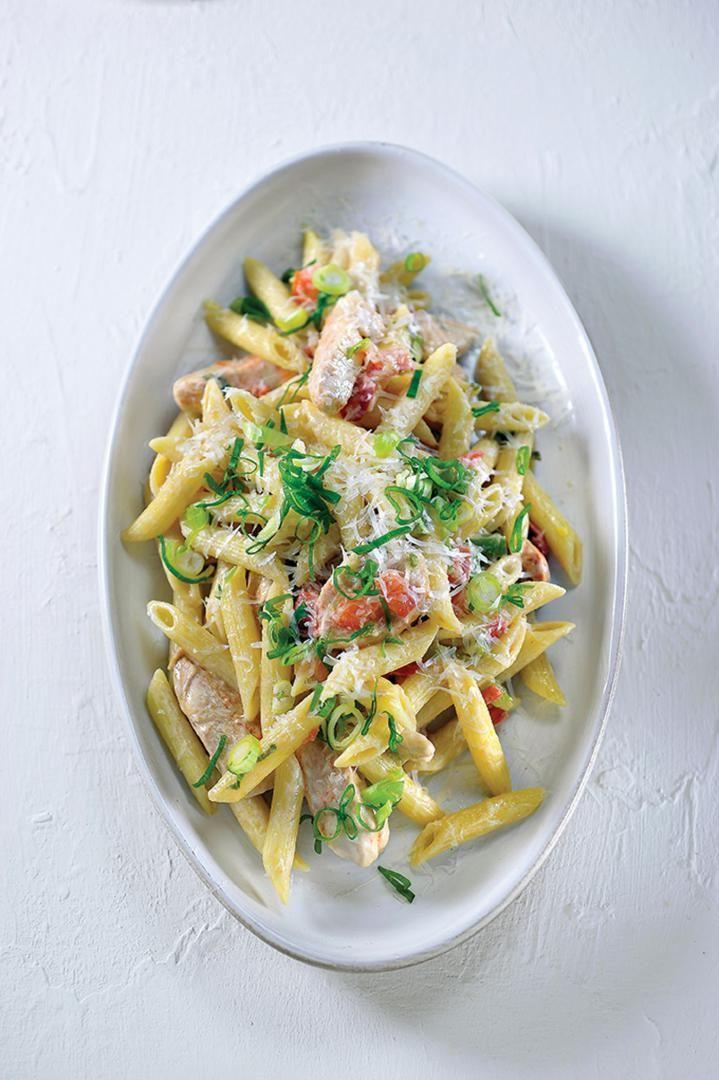 pasta recepten met kip
