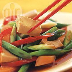 Roergebakken groenten met tahoe recept