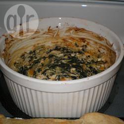 Dip van spinazie en artisjok recept