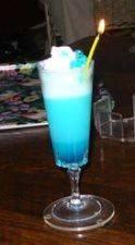 Blue curaçaosorbet recept
