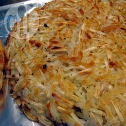Kaas aardappel rösti recept