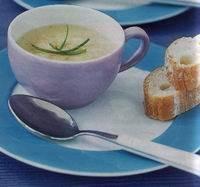 Romige kaas-uiensoep recept
