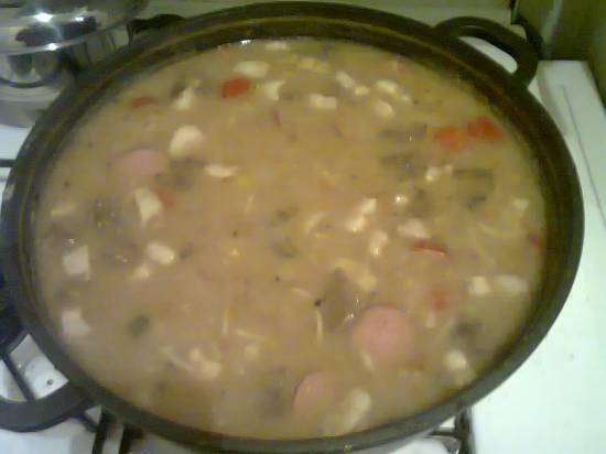 3 soorten bonen soep recept
