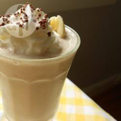 Milkshake van banaan en chocola recept