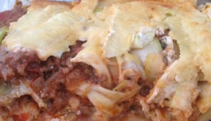 Courgette lasagne met roombrie 60  recept