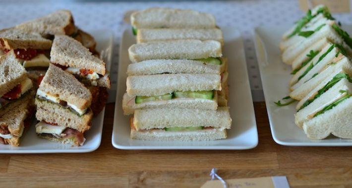 Wonderbaar High Tea Sandwiches ideeën - Uit Pauline's Keuken JZ-64