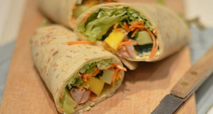 Super Kip-Mango Wrap - Uit Pauline's Keuken &LI66